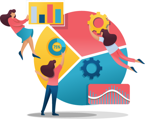 business systems illustration